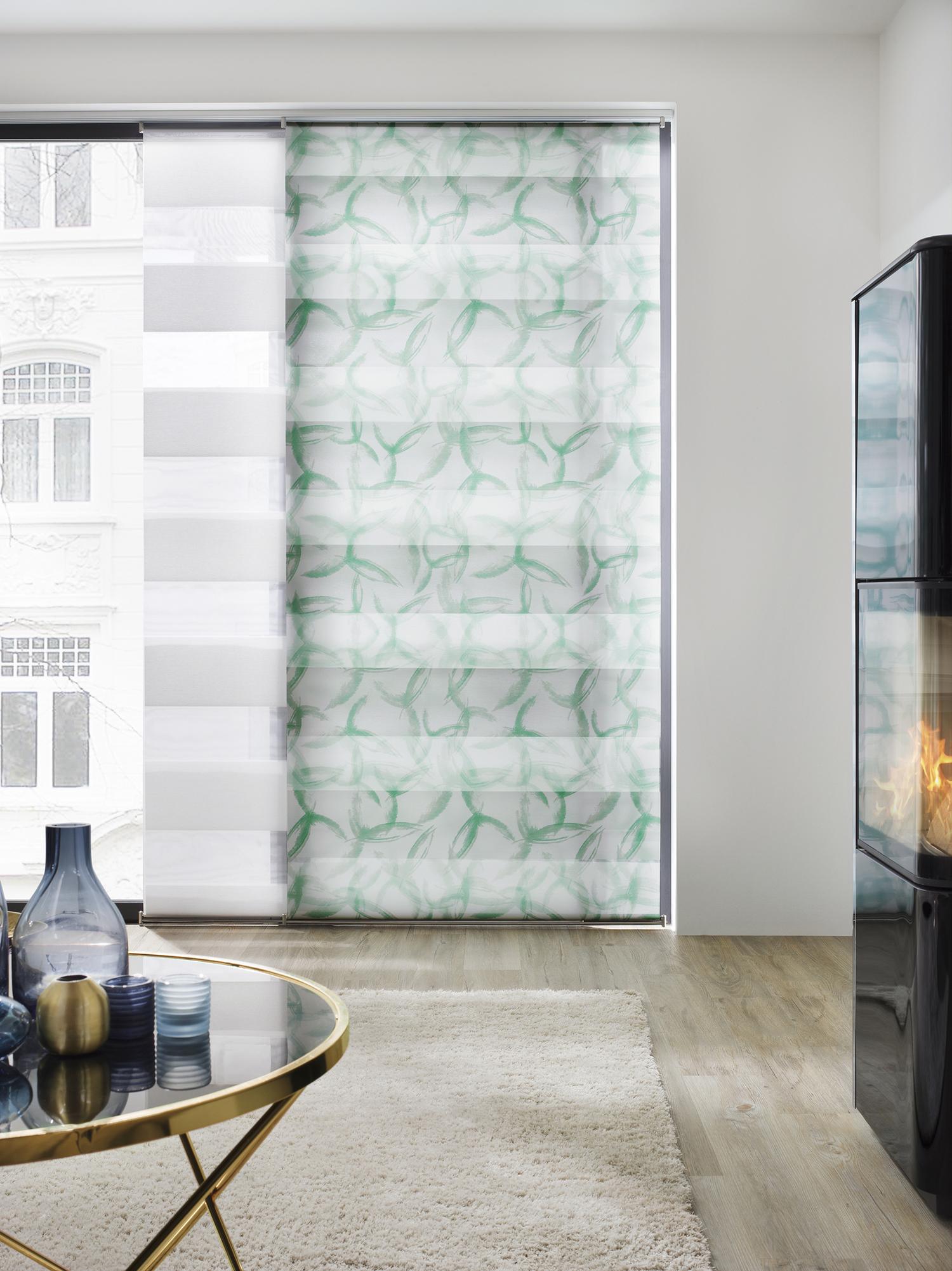 Doppelrollo wohnzimmer latest wohnzimmer klassik peerless - Roller glastisch ...